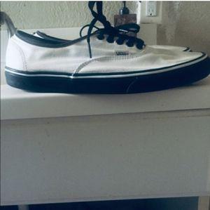 Custom vans authentic w/box